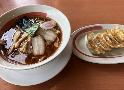 2018.3.19 ラーメン餃子