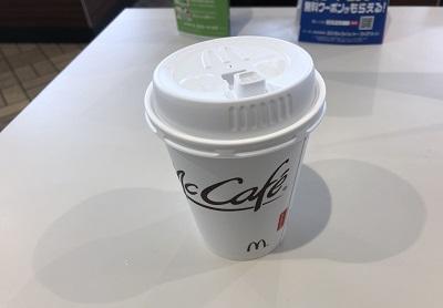 2018.3.19 マックでこコーヒー
