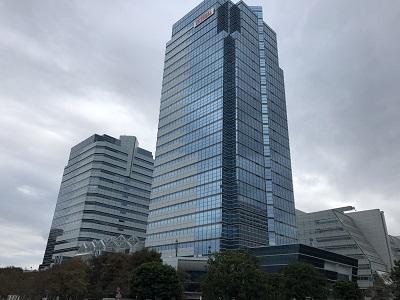 2018.10.9 都会のビル