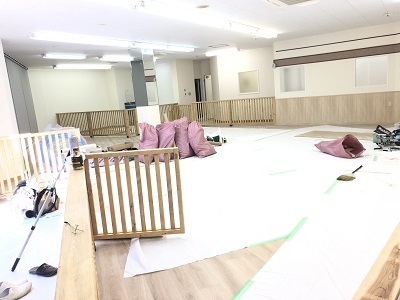 2019.12.23 内装工事中